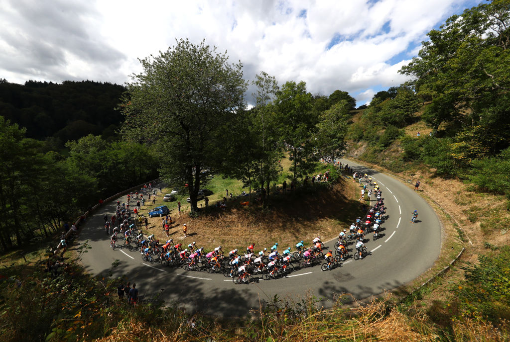It was a fast stage in the hills from the very start