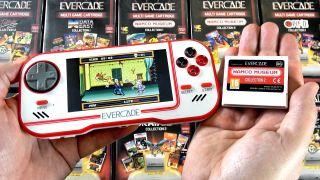 Evercade retro console handheld