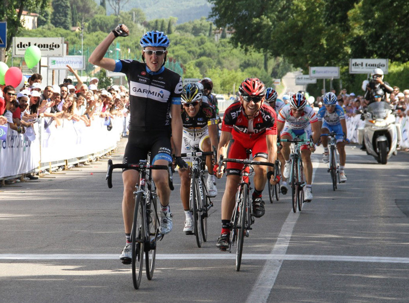 Daniel Martin wins Giro della Toscana 2011
