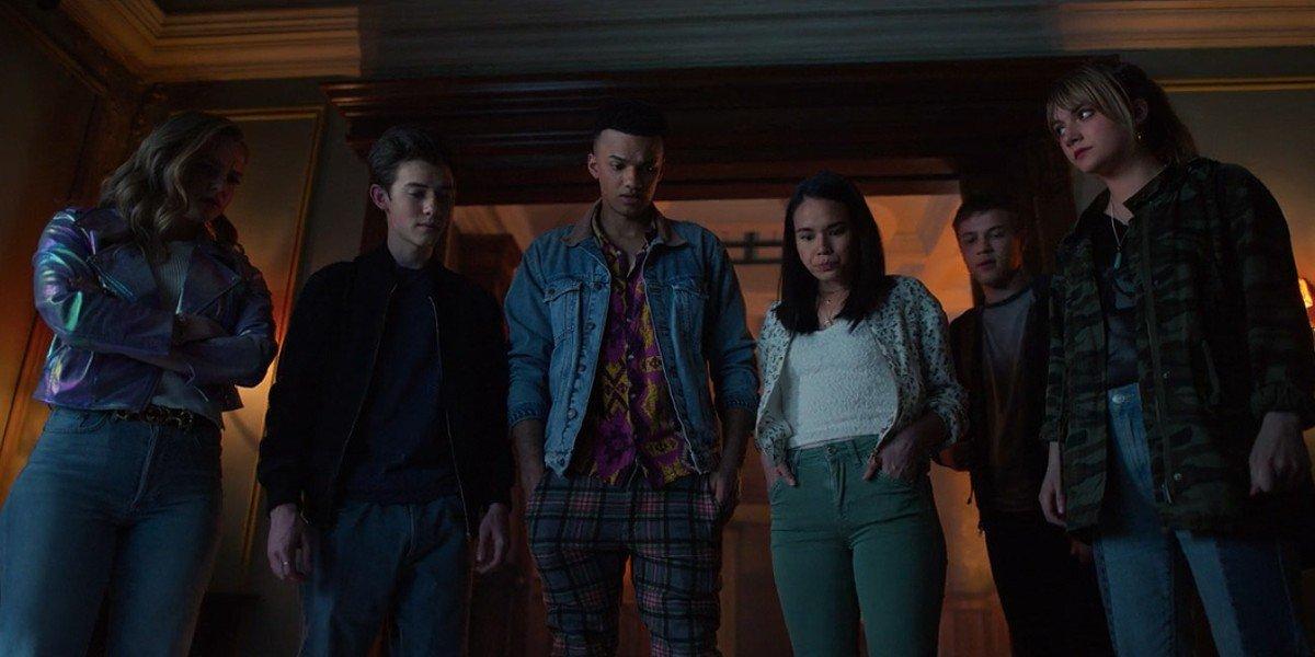 The cast of Locke and Key Season 1