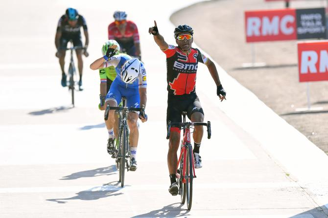 Greg Van Avermaet takes the Paris-Roubaix victory.