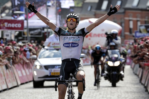 Zdenek Stybar eneco tour win stage 7 overall 2013.jpg
