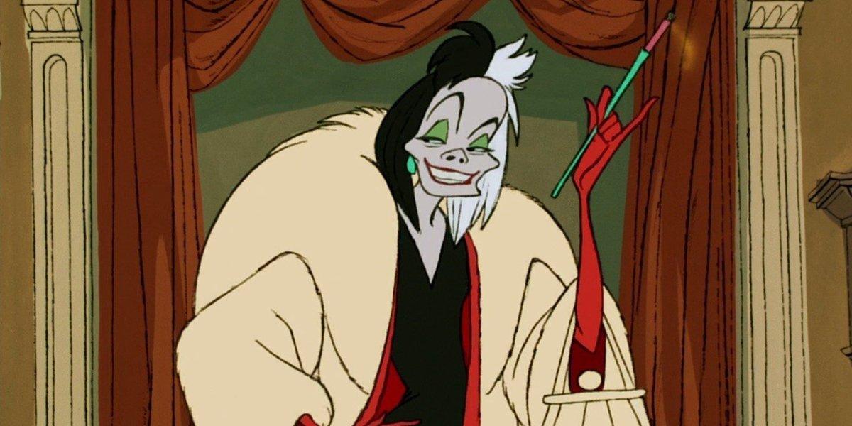 Cruella de Vil in 101 Dalmatians