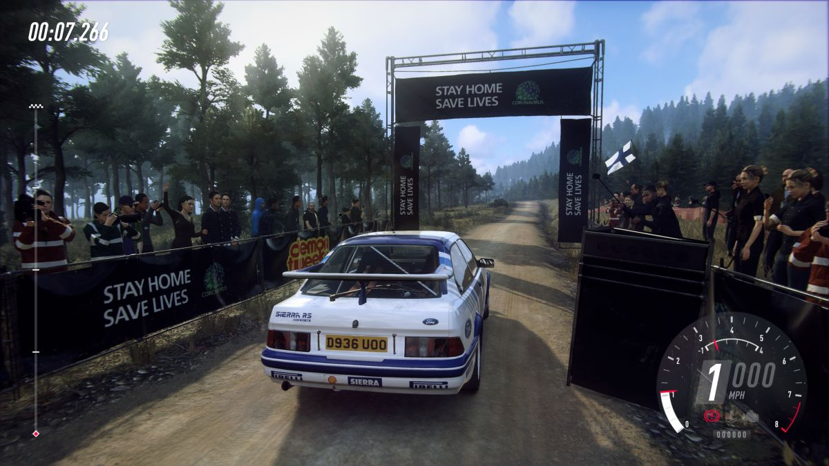 Dirt Rally 2.0 and other PC games are now featuring in-game coronavirus safety advice