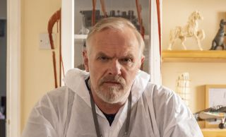 Greg Davies plays Wicky in The Cleaner