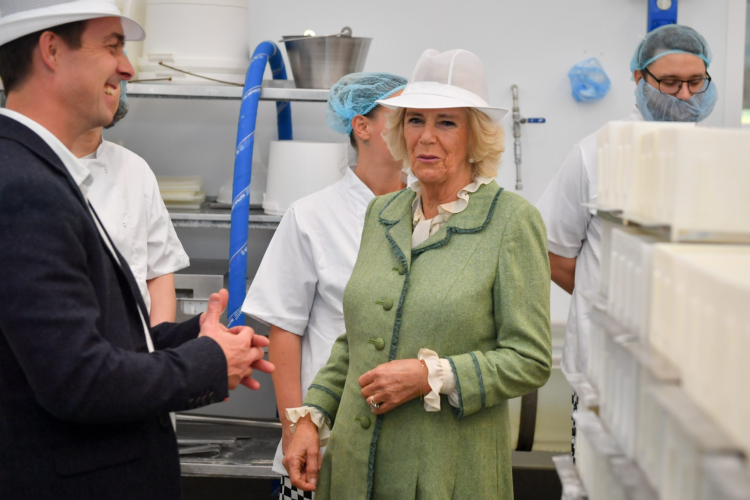 Duchess of Cornwall visits Bath