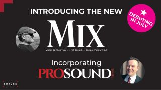 The Future pro audio brands Mix and Pro Sound News are merging media operations.