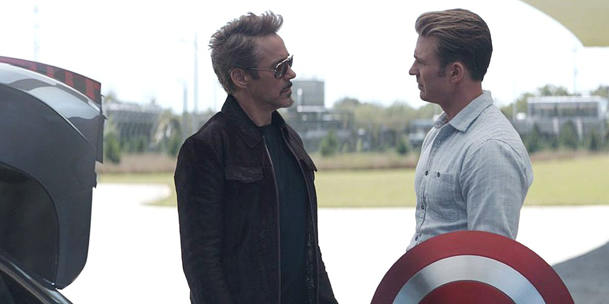 Robert Downey Jr  And Chris Evans 'Had To Get Off' The