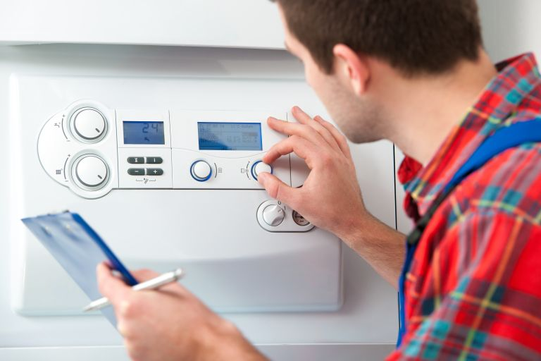 Mending a boiler