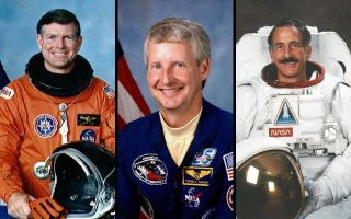 Shuttle Commander, Astronomers Join Astronaut Hall of Fame
