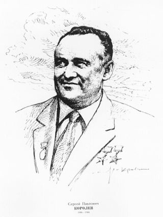 S. P. Korolev. Father of the Soviet Space Program
