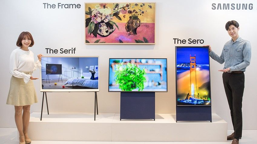 Samsung is making a vertical TV for all your Instagram Stories