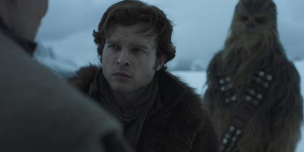 Alden Ehrenreich Han Solo A Star Wars Story Chewbacca
