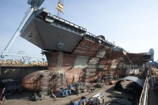 USS Gerald Ford Aircraft Carrier
