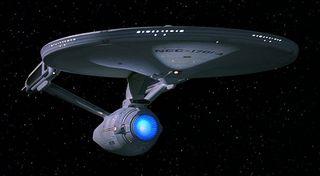 The Star Trek USS Enterprise
