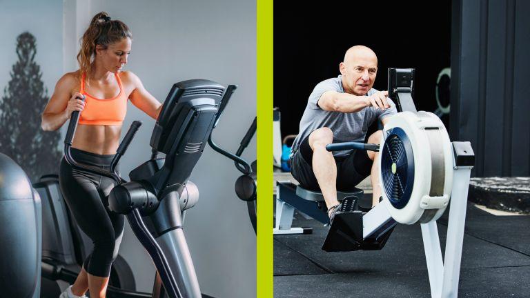 Elliptical machines versus rowing machines