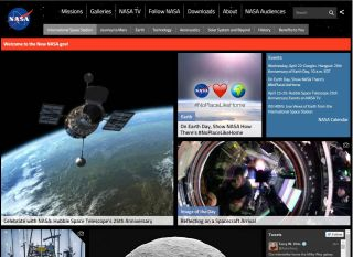 New Look of www.nasa.gov