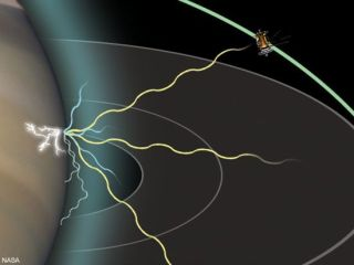 Cassini Hears Puzzling Lightning at Saturn