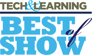 Tech & Learning Best of Show logo