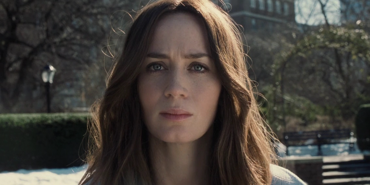 Emily Blunt in The Woman on The Train
