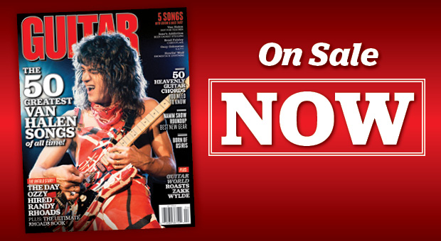 April 2012 Guitar World Out Now 50 Greatest Van Halen Songs Randy