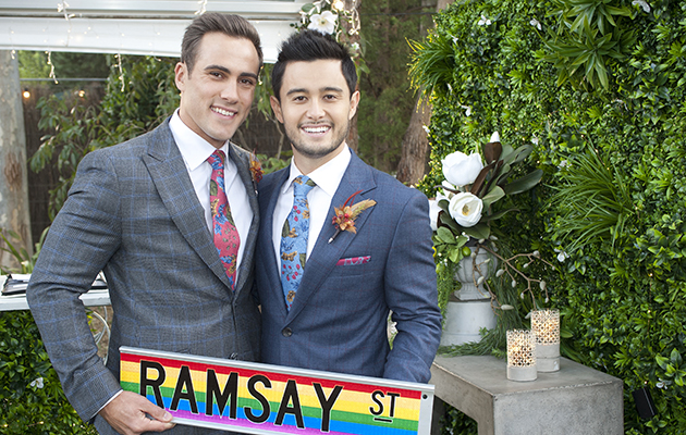 Neighbours to air first same-sex wedding on Australian TV