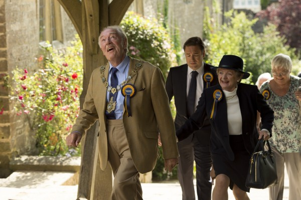 Michael Gambon and Julia McKenzie star in The Casual Vacancy (BBC)