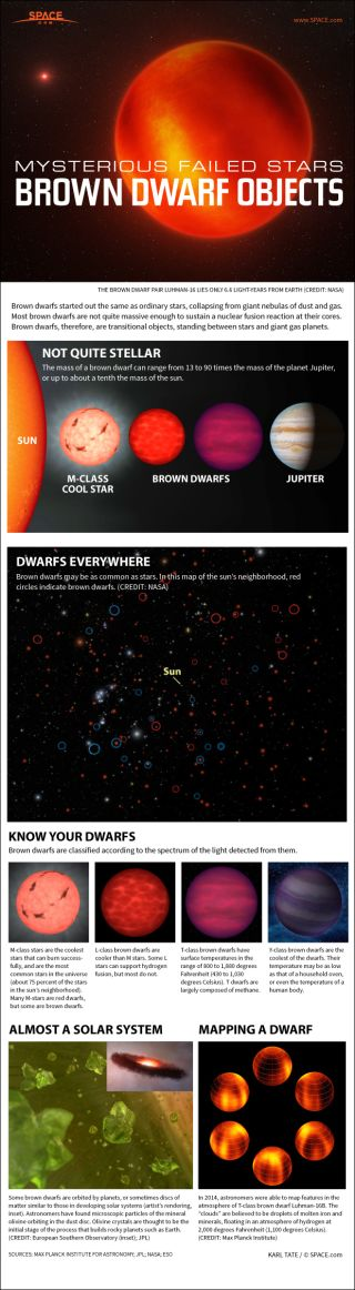 The particulars of brown dwarf objects.