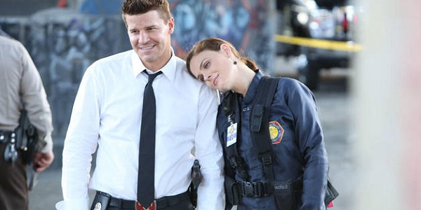 Booth Brennan Bones Fox Happy