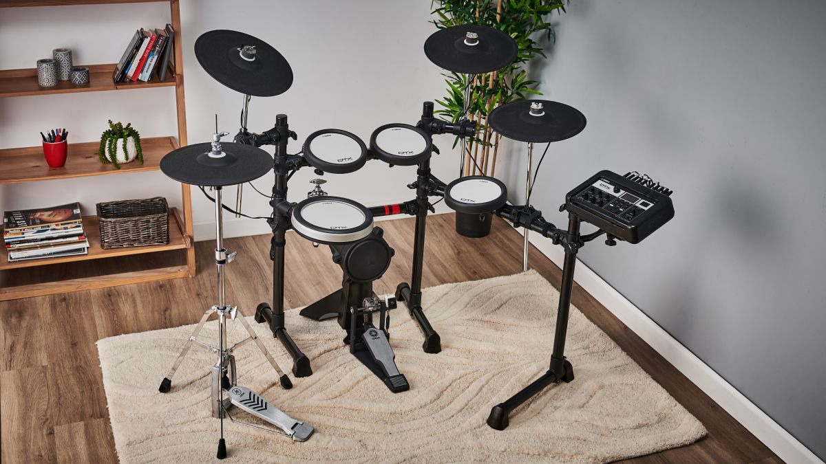 How to set up an electronic drum set