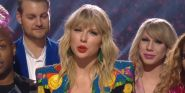 Watch John Travolta Try To Give Taylor Swift's VMA To The Wrong Person