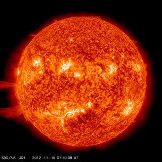 Solar Prominence Nov. 16