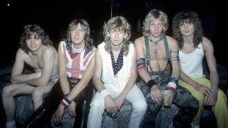 Def Leppard in the early 80s