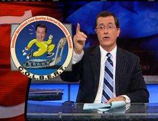Stephen Colbert 'Go' for Space Shuttle Launch