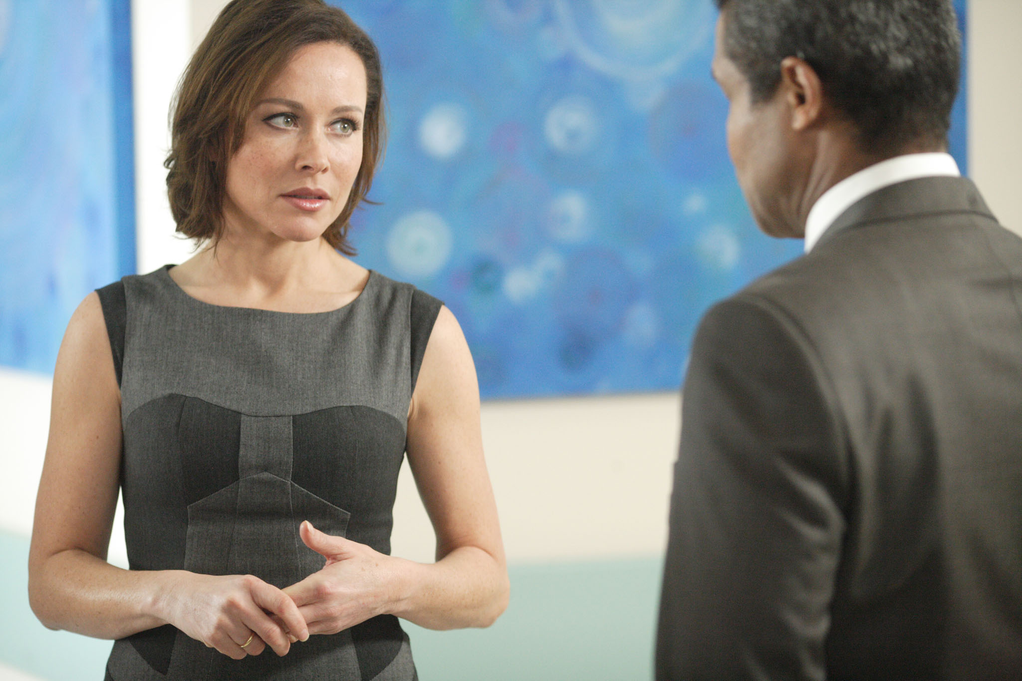 A quick chat with Holby's Amanda Mealing