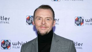 Simon Pegg, star of The Undeclared War
