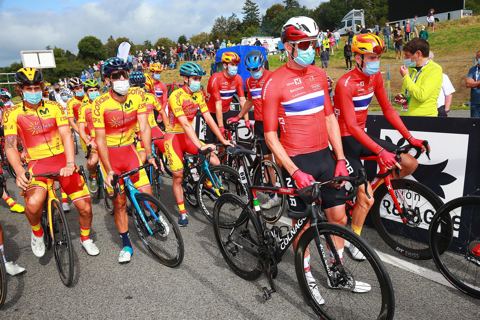 Alexander Kristoff lead the Norway team
