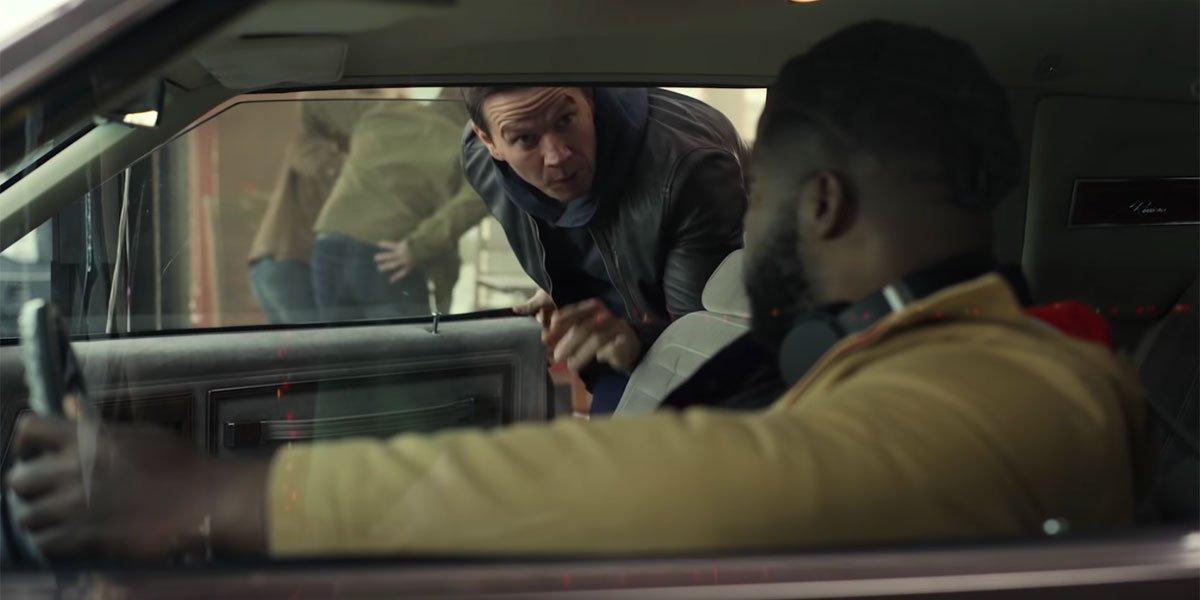 Mark Wahlberg and Winston Duke in Netflix's Spenser Confidential