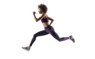 Regardless of whether a person runs frequently or only sometimes, their arms are usually held in a bent position.