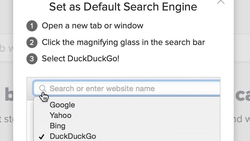 Default Search Engine