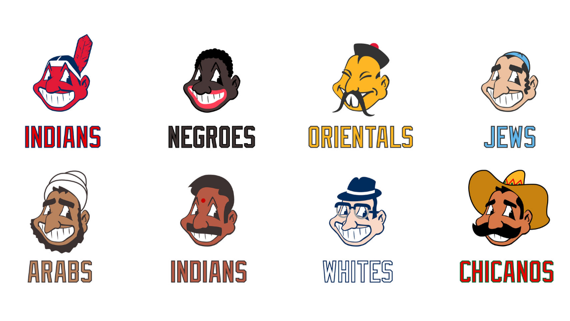 Mock Cleveland Indians Logos Highlight Racial Double Standards