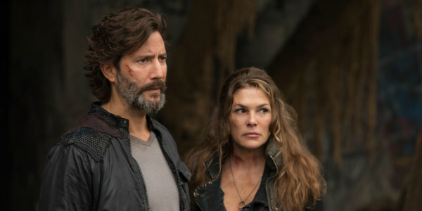 The 100 Marcus Kane Henry Ian Cusick Abby Griffin Paige Turco The CW