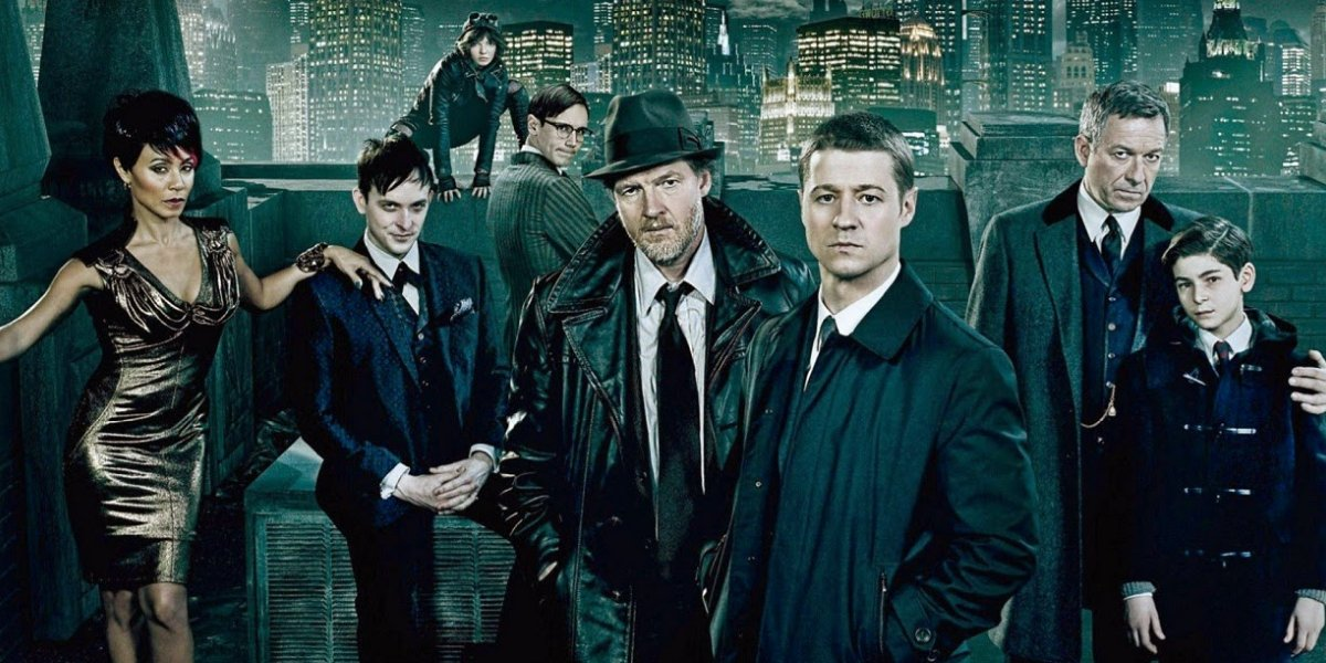 The cast of Gotham