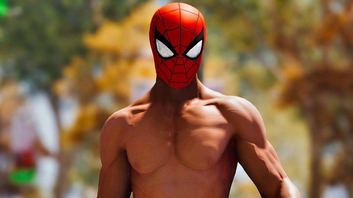 All the details about Peter Parker's nipples in Spider-Man PS4 you didn't realize you needed to know