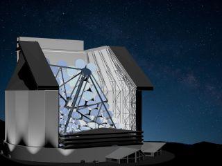 Colossus Alien-Seeking Telescope
