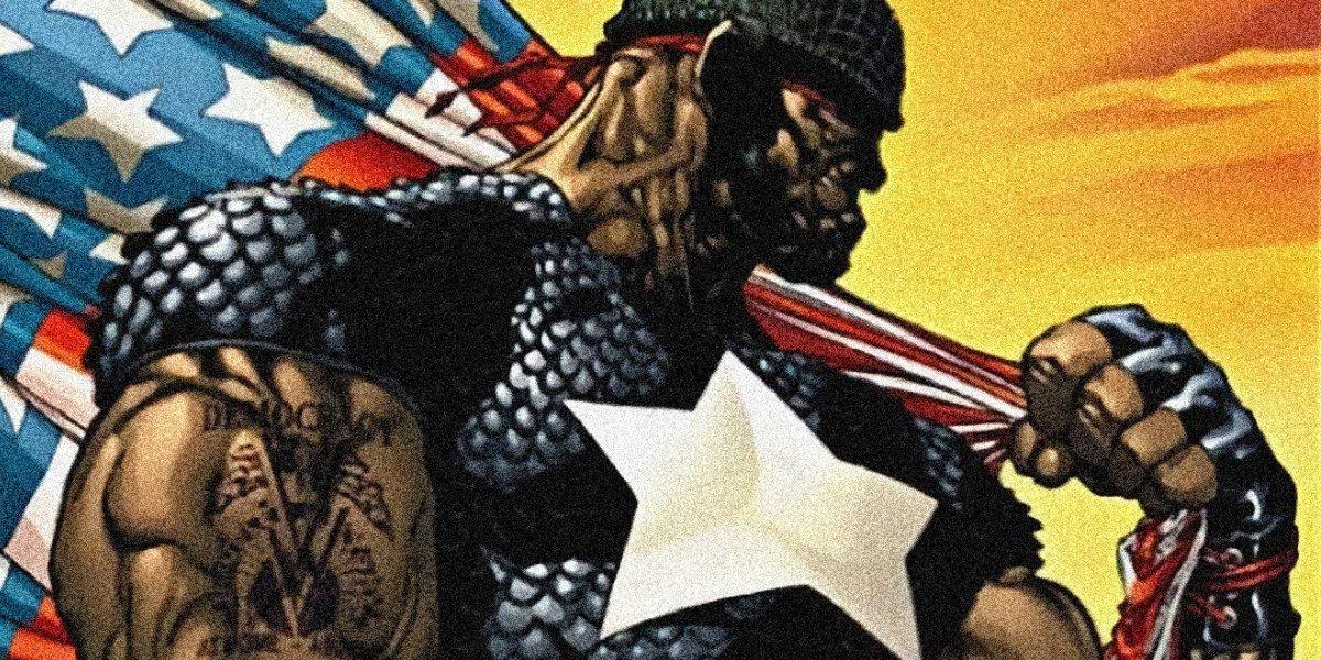 Isaiah Bradley is Captain America