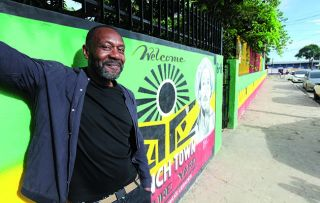 Lenny Henry's Jamaican parents moved to the UK in 1957, a year before Lenny was born.