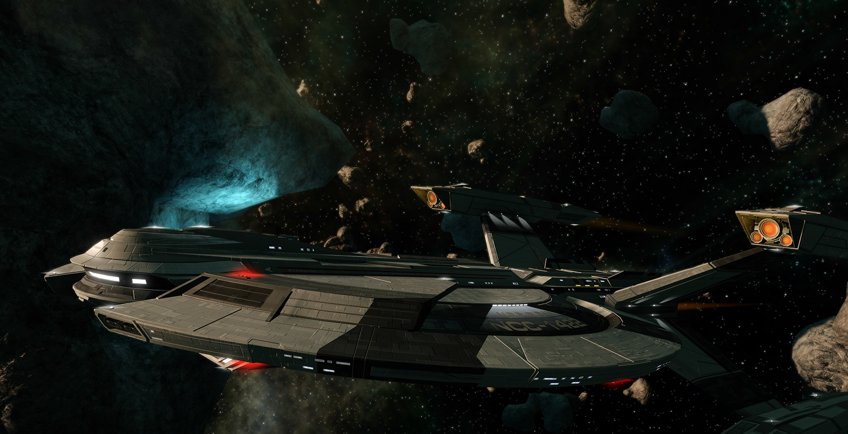 Star Trek Online's Rise of Discovery update brings back Captain Lorca