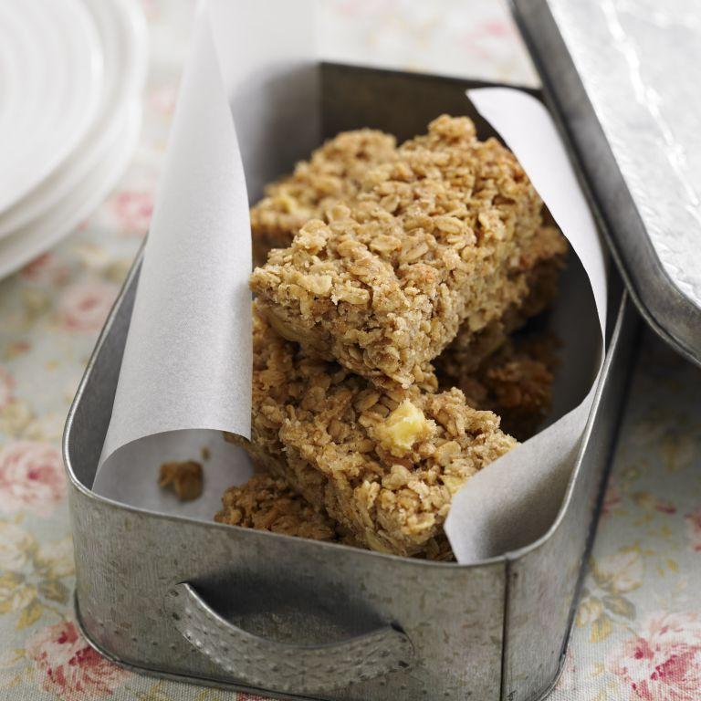 Apple and cinnamon Flapjacks recipe-dessert recipes-recipes-recipe ideas-new recipes-woman and home