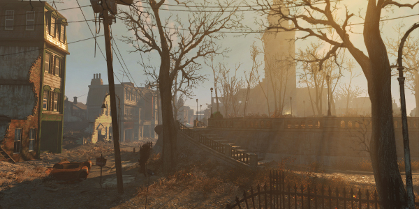 Quiet town in Fallout 4